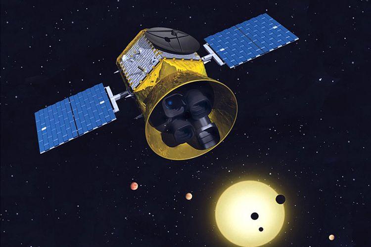Baru mengorbit bulan teleskop nasa sudah temukan planet baru