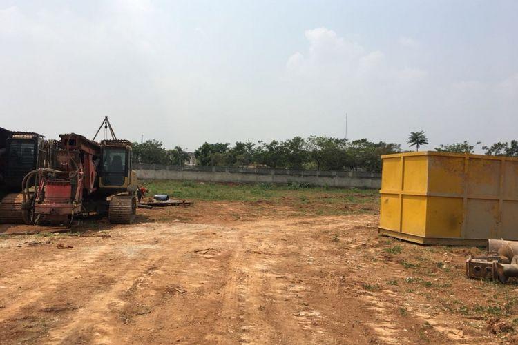 Kondisi proyek K2 Park per 21 Agustus 2018.