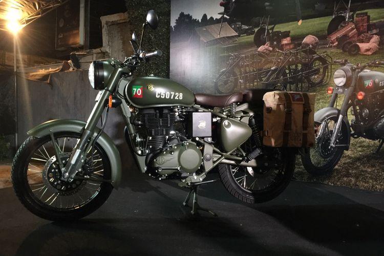 Royal Enfield Classic 500 Pegasus cuma tersedia 40 unit di Indonesia.