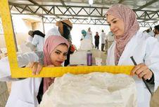 Bangun Monumen yang Hancur, Siswa di Suriah Pelajari Ilmu Bebatuan