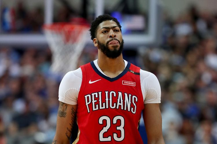 Pemain New Orleans Pelicans, Anthony Davis.