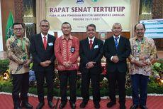 Kalahkan Petahana, Yuliandri Jadi Rektor Universitas Andalas