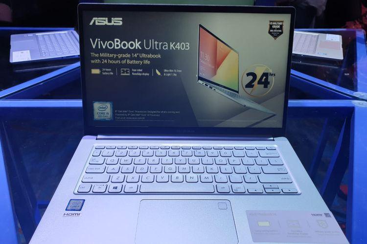 Asus VivoBook Ultra K403 warna silver blue