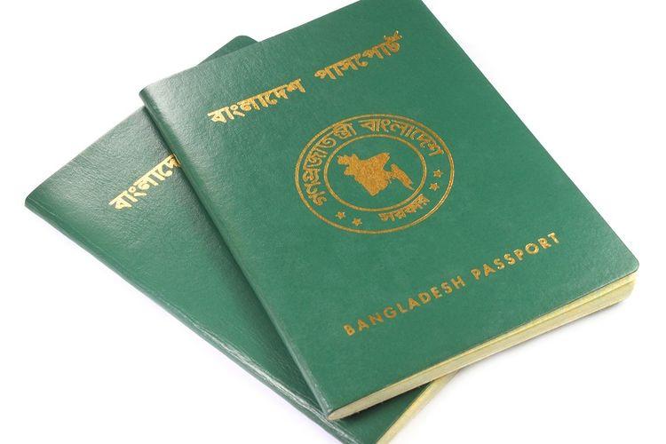 Paspor Bangladesh.