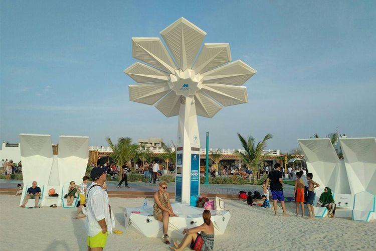Smart Palm di Dubai.