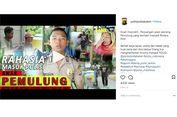 Bripda Krisma, Anak Pemulung yang Berhasil Jadi Polisi