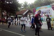 Warga Desa Deyangan Gelar Hiburan untuk Semangati Pelari Borobudur Marathon 2018