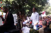 Naik Kereta Kuda, Jokowi Hadiri Kampanye Terbuka Perdana di Serang