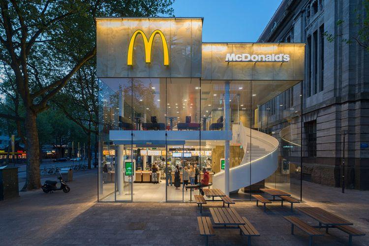 Gerai McDonalds Rotterdam