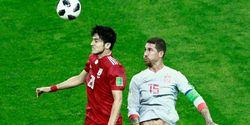 5 Fakta Menarik Iran Vs Spanyol, Skor Identik 1-0