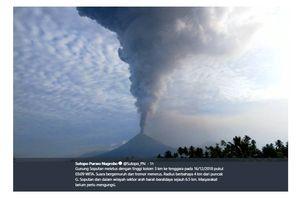 Gunung Soputan Erupsi, Radius Bahaya 4 Kilometer