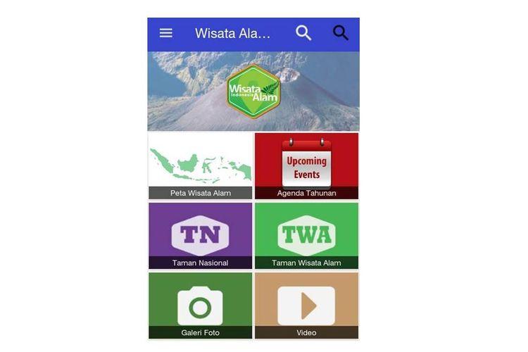 Kementerian Lingkungan Hidup dan Kehutanan (LHK) meluncurkan sebuah aplikasi bernama Wisata Alam Indonesia.