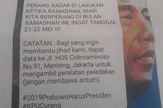 Guru Penyebar Undangan Pengeboman Massal di Jakarta 22 Mei Meminta Maaf
