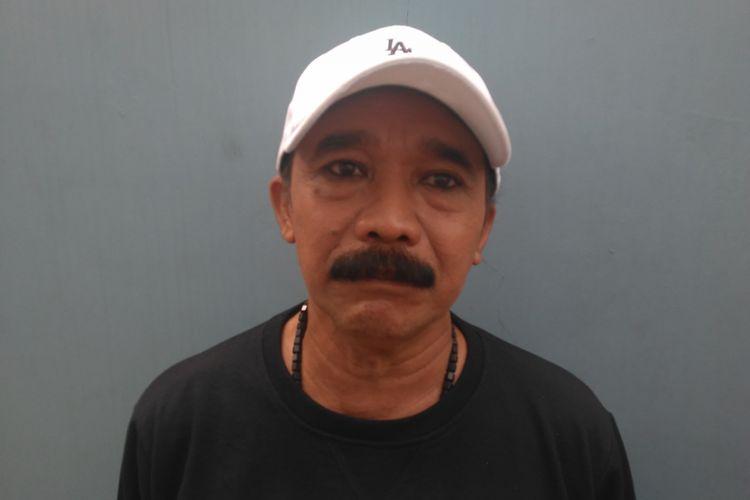 Komedian Opie Kumis saat ditemui di kawasan Mampang, Jakarta Selatan, Kamis (11/10/2018).