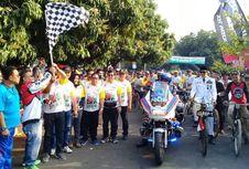 Sosok BK Pimpin Sepeda Nusantara Etape Cirebon