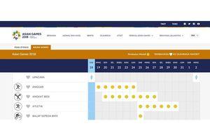 Jadwal Pertandingan Atlet Indonesia di Asian Games pada 22 Agustus 2018