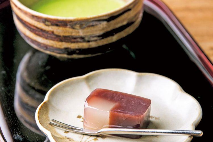 Set hidangan Tokusen Matcha