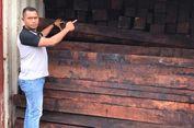 Polisi Gagalkan 4 Kontainer Kayu Merbau yang Akan Diselundupkan ke Surabaya