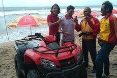 Hadapi Cuaca Buruk, Balawisata Pantai Kuta Dapat Bantuan Peralatan