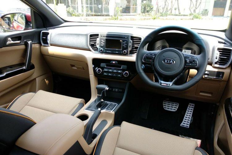 Interior Kia All New Sportage