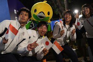 Pembukaan Asian Games 2018, Jepang dan Suriah Bawa Bendera Indonesia