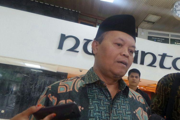 Politisi PKS Hidayat Nur Wahid di Kompleks Parlemen, Senayan, Jakarta, Kamis (28/9/2017).