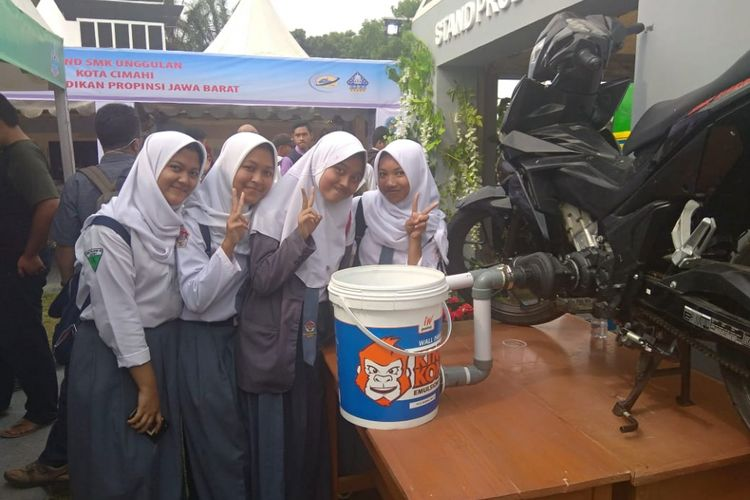 Pemerintah terus mendorong siswa SMK melakukan inovasi.
