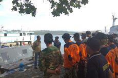 Lagi, Buaya Muara Muncul di Perairan Pulau Nusakambangan