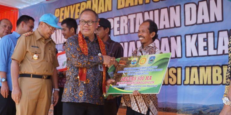Direktur Jenderal Perkebunan Kementerian Pertanian (Kementan) Kasdi Subagyono