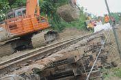 Perbaikan Tanah Longsor Rampung, Kereta Api Sudah Bisa Melintas