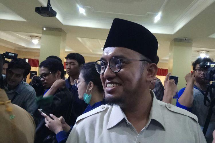 Ketua Umum Pimpinan Pusat Pemuda Muhammadiyah, Dahnil Anzar Simanjuntak Ketika Ditemui di kantor PP Muhammadiyah, Jakarta, Selasa (5/9/2017).