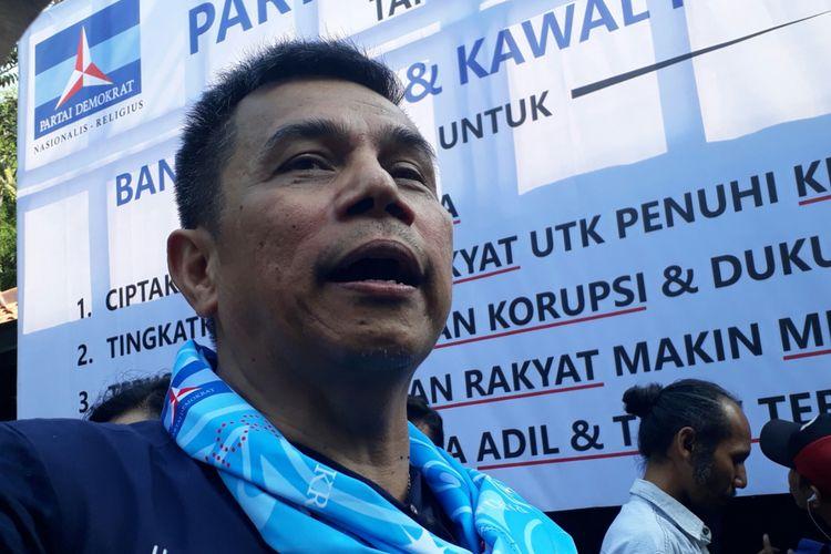 Sekjen Partai Demokrat Hinca Pandjaitan, Sabtu (9/9/2017).