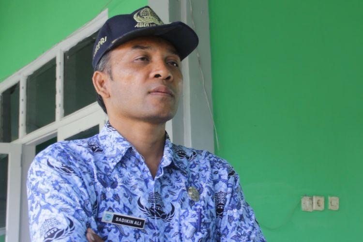 Sadikin Ali, Kepala Sekolah SMAN 1 Sembalun