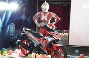 Yamaha Luncurkan MX-King Edisi 'Ultraman'