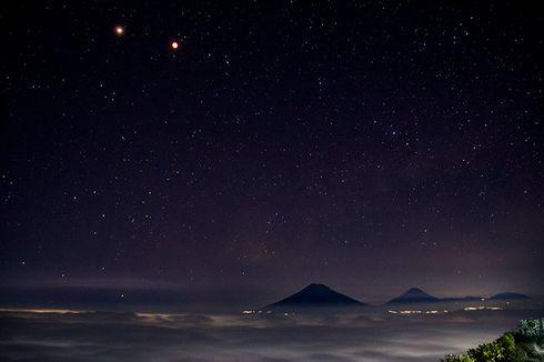 Gunung Andong, Salah Satu Tempat Terbaik Memotret Bima Sakti