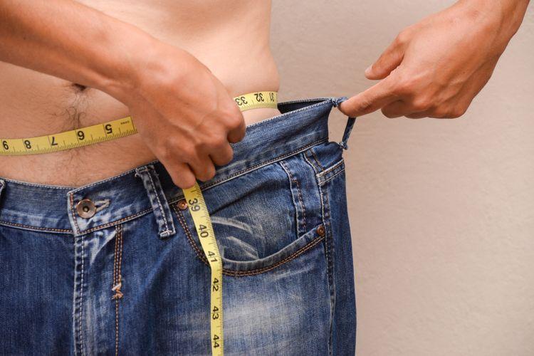 Ilustrasi turun berat badan