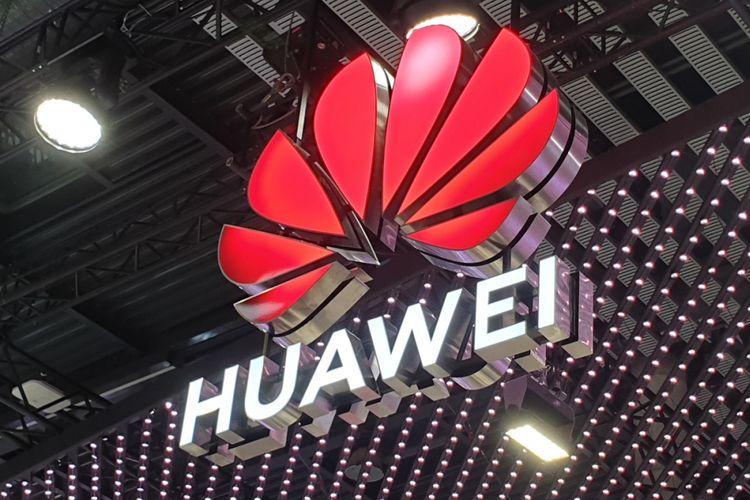 Booth Huawei di MWC 2019.