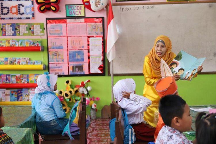 Salah satu program Inovasi untuk Anak Sekolah Indosia (INOVASI) di Kalimantan Utara.