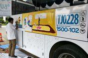 Bus Transjakarta yang Dilukis Anak-anak Disabilitas Dioperasikan di Koridor 1