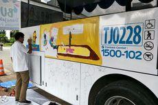 Ketika Bus Transjakarta Jadi Kanvas Lukisan Anak-anak Disabilitas...