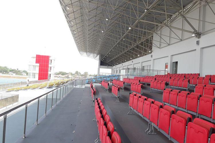 Tribun venue dayung Stadion Jakabaring