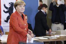 Kanselir Angela Merkel Resmi Memberikan Suara di Pemilu Jerman