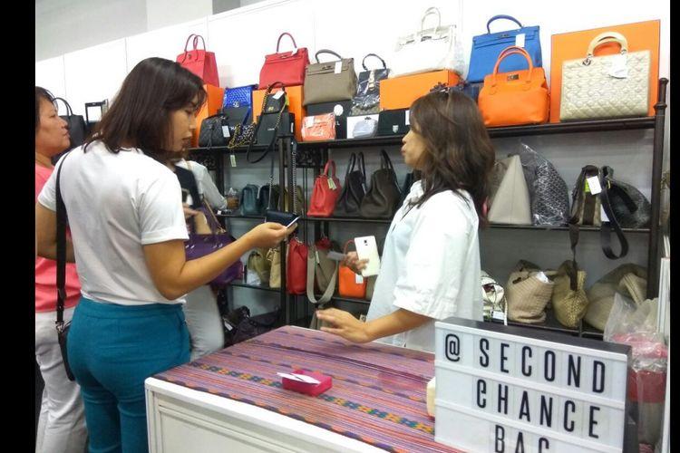 Bazaar produk preloved branded di Irresistible ke 9