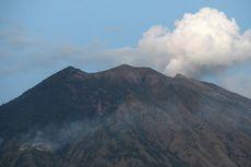 Gunung Agung Kembali Erupsi, Semburan Setinggi 2 Kilometer