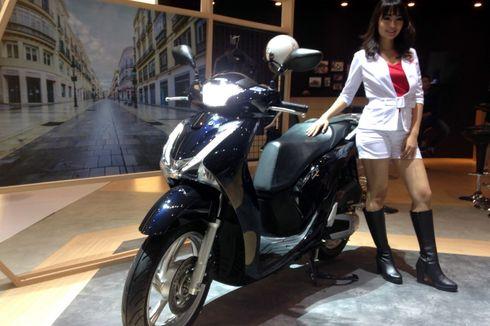Honda Belum Menyerah Jualan Skutik Mahal SH150i