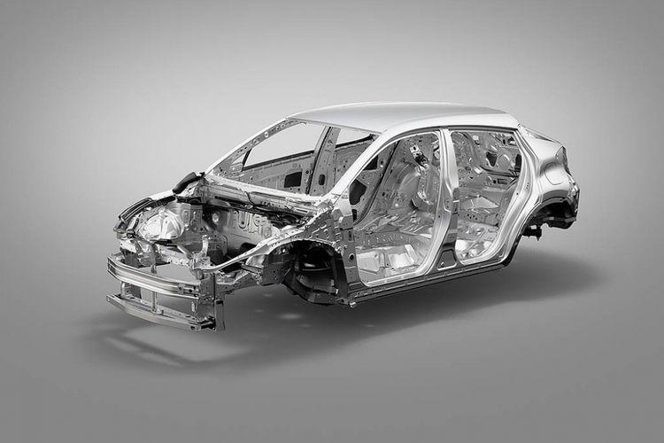 Kerangka Toyota C-HR