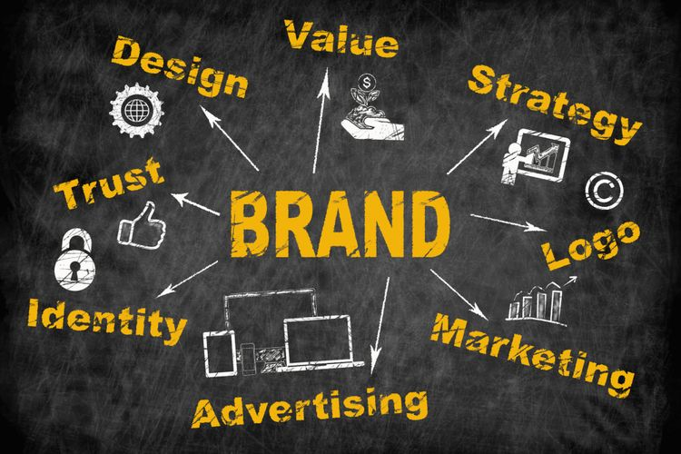 Ilustrasi branding
