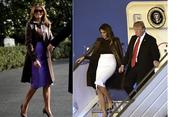 Tampilan Glamor Melania Trump saat KTT G 20