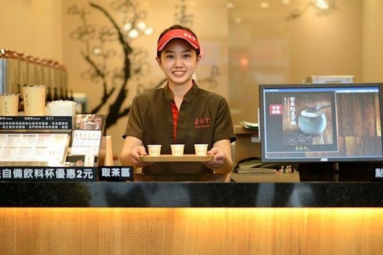 TP Tea, salah satu gerai bubble tea di Taiwan.