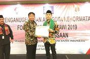 Deputi Menpora Dapat Penghargaan Forum Pemuda Betawi